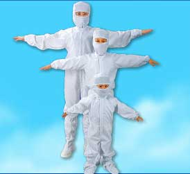 Garments for Clean Room